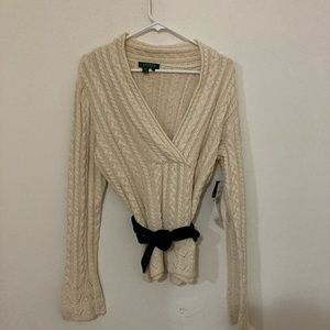 Ralph Lauren Cream Sweater